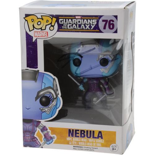 Karen Gillan Guardians Of the Galaxy Autographed #76 Nebula Funko Pop! - JSA