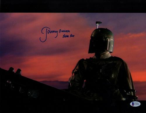 "JEREMY BULLOCH Signed STAR WARS ""Boba Fett"" 11x14 Photo BECKETT BAS #C70401"