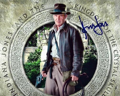 Harrison Ford Indiana Jones Star Wars Signed 8x10 Auto Photo DG COA (B)