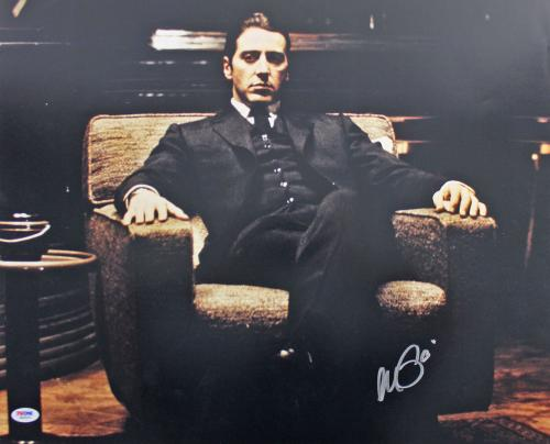 Al Pacino Godfather Signed 16x20 Photo Autographed PSA Itp #6A69101