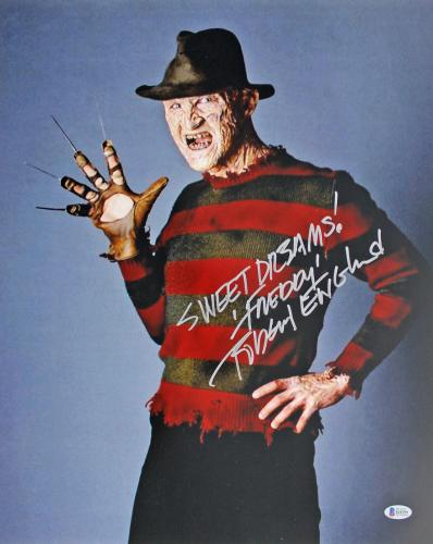 "Robert Englund Nightmare On Elm St ""Sweet Dreams"" Signed 16x20 Photo BAS #I64399"