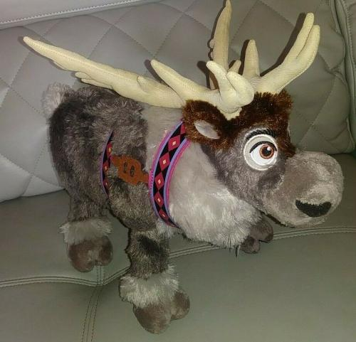 Disney Frozen Sven The Reindeer Collectible 16' Plush Toy Very Cool L@@k Rare