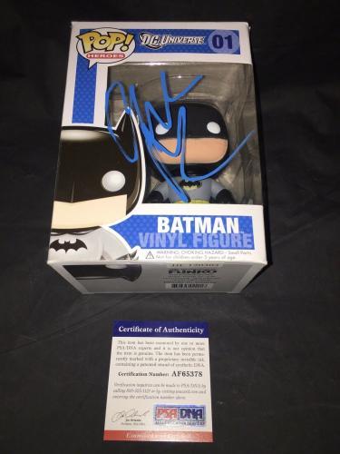 Christian Bale Signed Official Batman Funko Pop Dark Knight Trilogy PSA/DNA #4