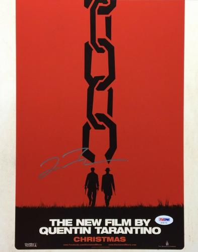 Quentin Tarantino Signed 'Christmas' 11x14 Photo PSA AF81770