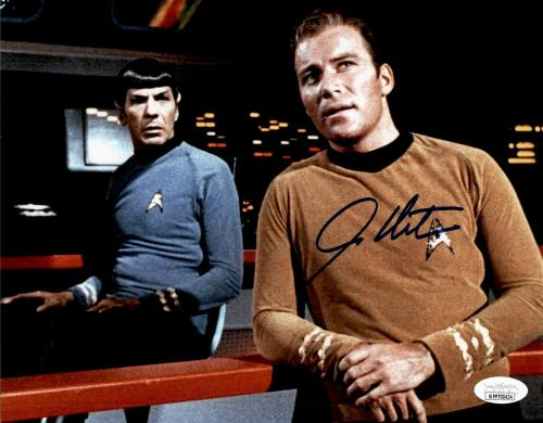 William Shatner Star Trek Signed Autographed 8x10 Photo JSA Authenticated 12