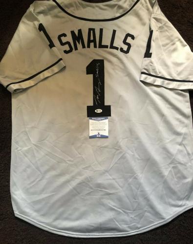 Tom Guiry Signed Autographed Smalls The Sandlot Jersey BECKETT COA