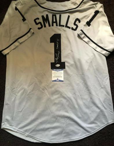 Tom Guiry Signed Autographed Smalls The Sandlot Jersey BECKETT COA 3