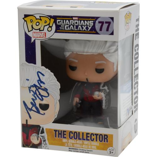 Benicio Del Toro Guardians of the Galaxy Autographed The Collector #77 Funko Pop! - BAS
