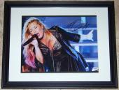 1 TIME SUPER SALE Demi Lovato Signed Autographed Framed 11x14 Photo PSA COA WOW!