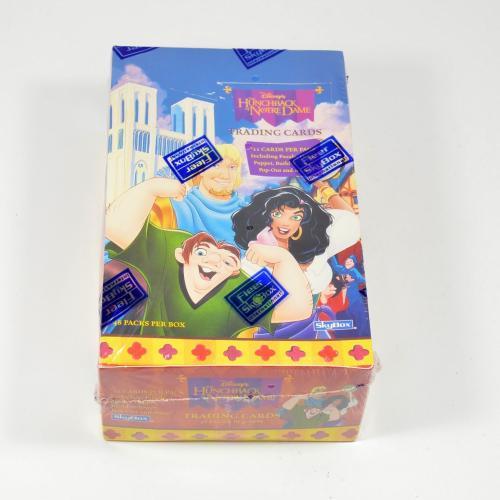 (10) 1996 Skybox Disney's Hunchback Of Notre Dame Trading Card Box 48 Packs