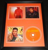 100% Ginuwine 1999 Framed 11x14 CD & Photo Display