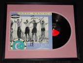 10,000 Maniacs Group Signed Framed 1987 In My Tribe Record Album Display JSA