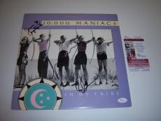 10,000 Maniacs In My Tribe 3/signatures Jsa/coa Signed Lp Record Album