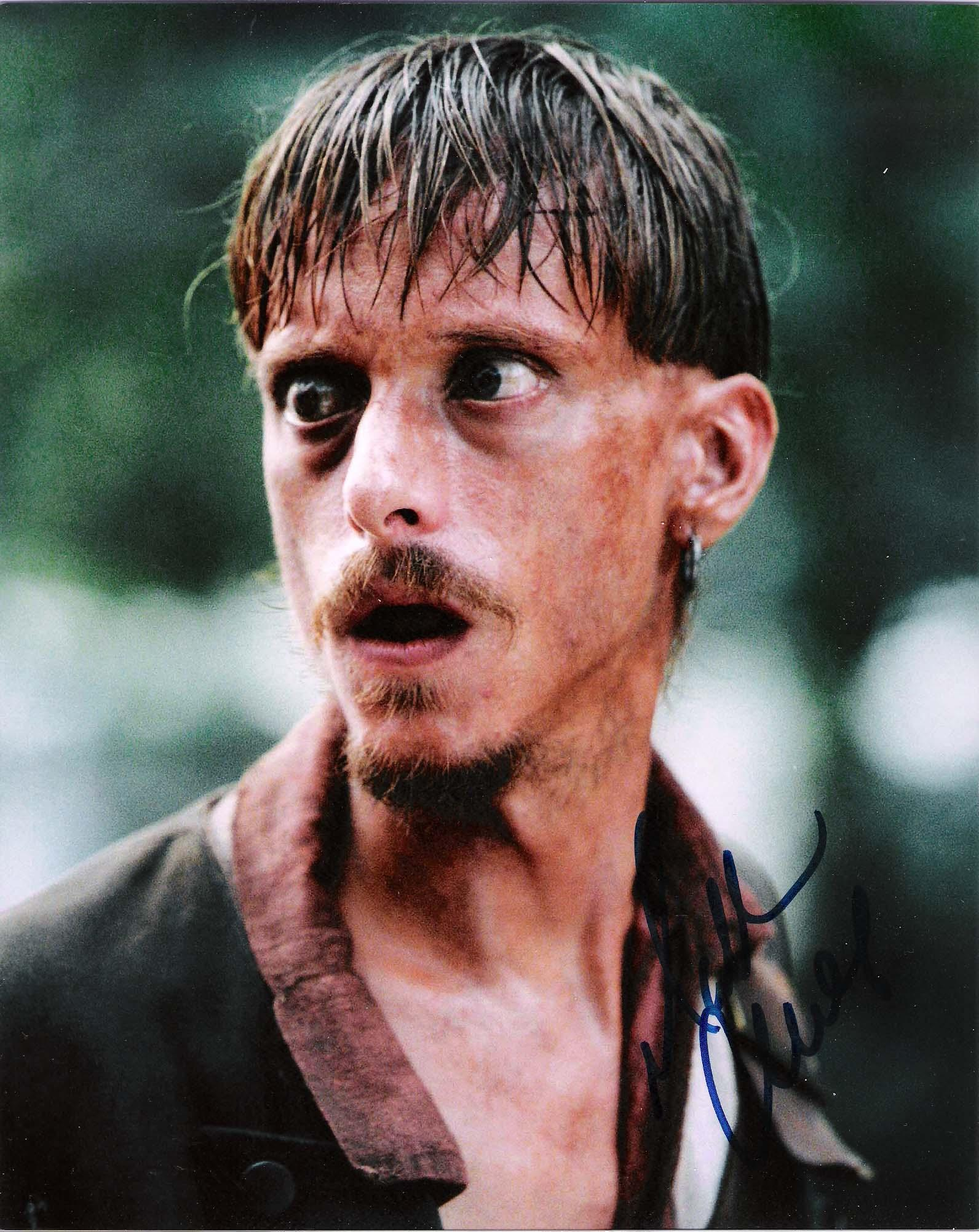"MACKENZIE CROOK ""PIRATES of the CARIBBEAN"" Signed 8x10 Color Photo"