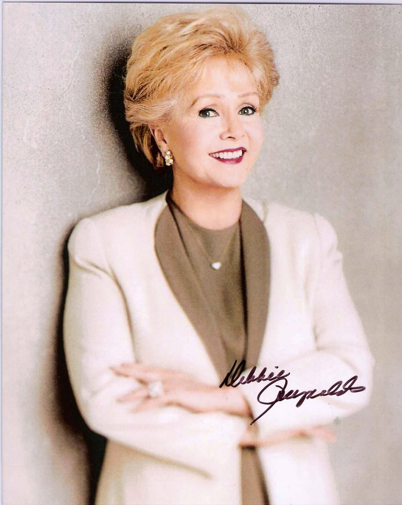DEBBIE REYNOLDS SIGNED MAKE 'EM LAUGH 2015 SHORT TERM MEMORIES LONGTIME FRIENDS