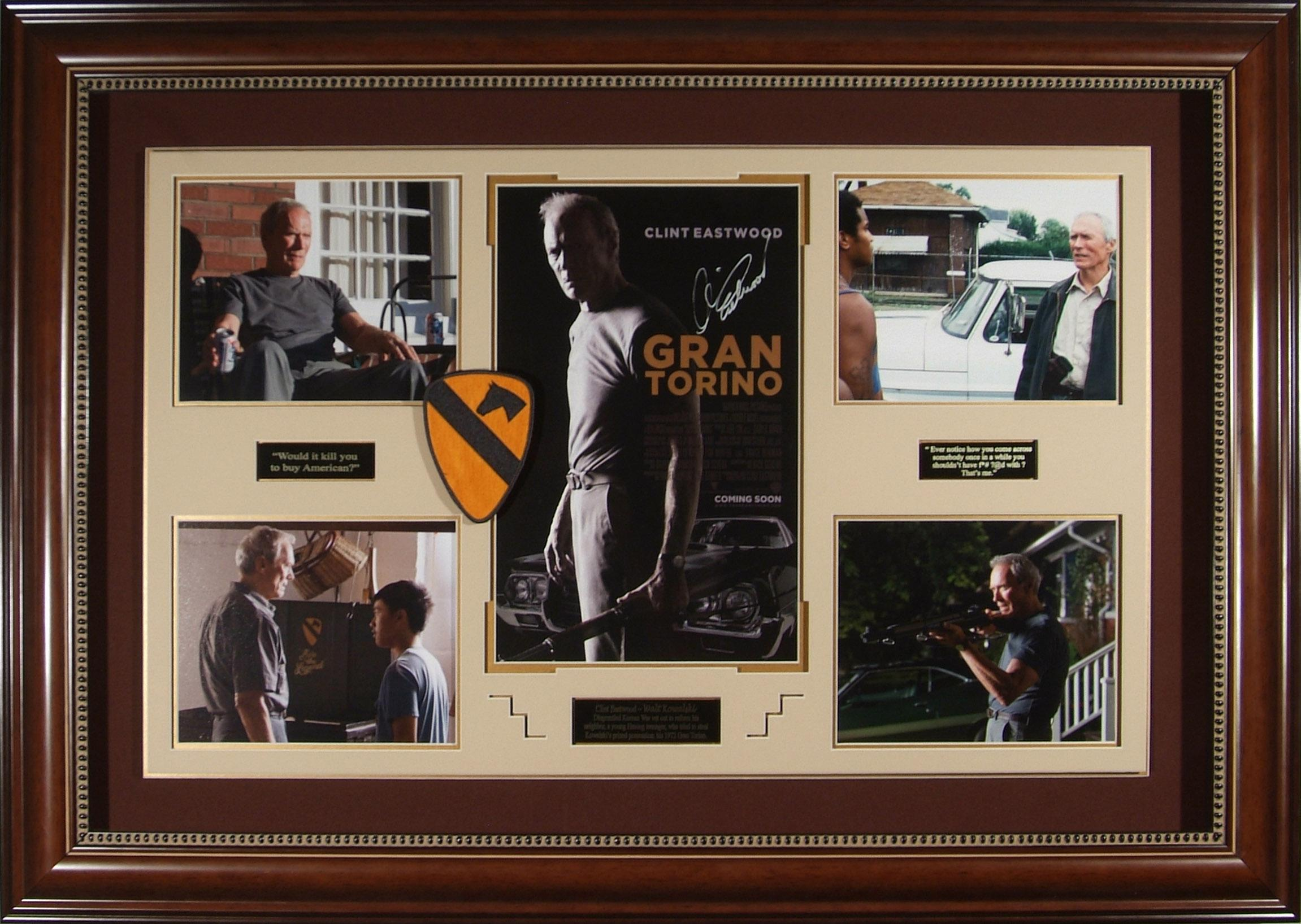 Gran Torino - Clint Eastwood Autographed Movie Display