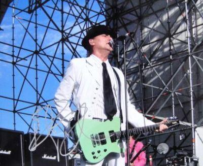 Robin Zander Signed CHEAP TRICK 8x10 Photo PROOF COA