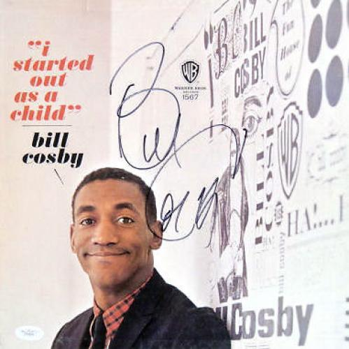 "Bill Cosby Signed I Started Out As a Child 12"" LP JSA"