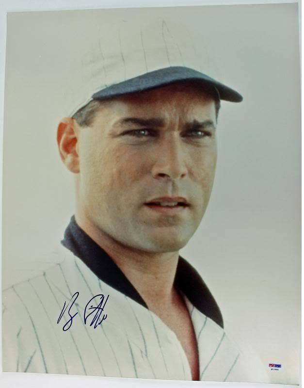 Ray Liotta Field Of Dreams Signed 16X20 Photo PSA/DNA #Q11485