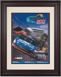 "Framed 10 1/2"" x 14"" 39th Annual 1997 Daytona 500 Program Print - Mounted Memories"