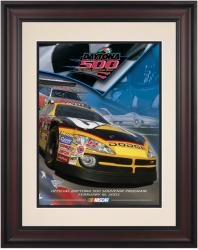 "Framed 10 1/2"" x 14"" 45th Annual 2003 Daytona 500 Program Print - Mounted Memories"
