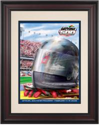 "Framed 10 1/2"" x 14"" 48th Annual 2006 Daytona 500 Program Print - Mounted Memories"