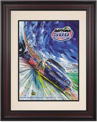 "Framed 10 1/2"" x 14"" 49th Annual 2007 Daytona 500 Program Print"