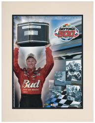 Matted 10 1/2'' x 14'' 47th Annual 2005 Daytona 500 Program Print - Mounted Memories