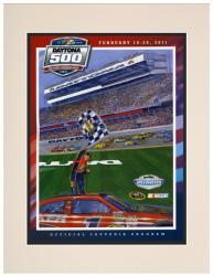 53rd Annual 2011 Daytona 500 Matted 10.5 x 14 Program Print