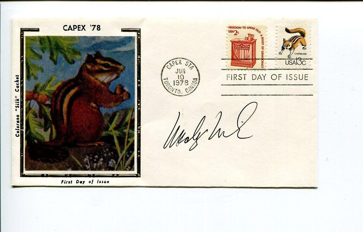 Woody Wilson Rex Morgan MD Cartoonist Artist Signed Autograph FDC