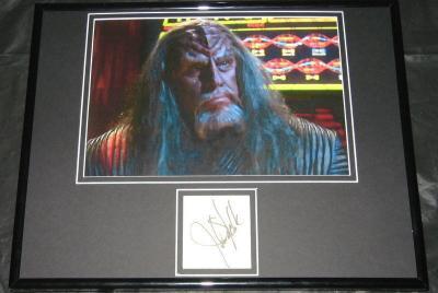 John Schuck Star Trek Signed Framed 11x14 Photo Display