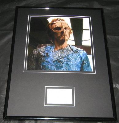 Albie Selznick Star Trek Signed Framed Photo 11x14