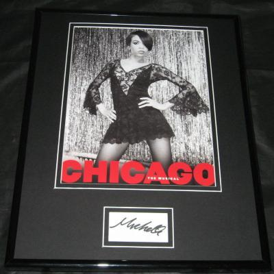 Michelle Williams Signed Framed 11x14 Photo Display Chicago Destiny's Child