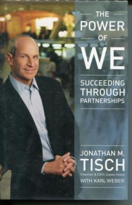 Jonathan Tisch Loews CEO NY New York Giants Owner Signed Autograph 1st Ed Book