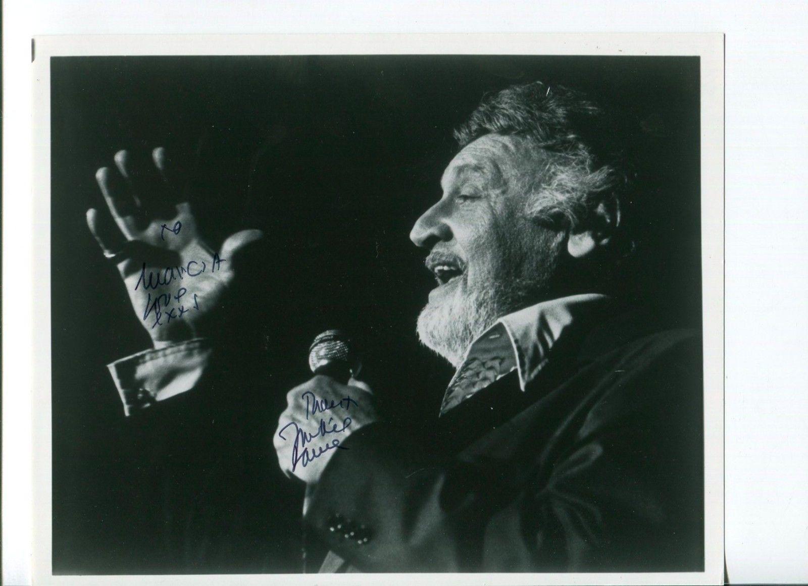 Frankie Laine Jazz Big Band Star Signed Autograph Photo