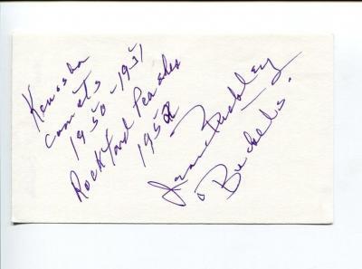 Jean Buckley Aagpbl Kenosha Comets Signed Autograph