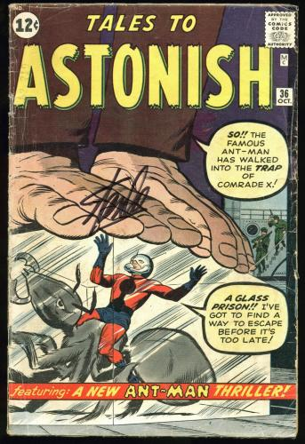 Stan Lee Signed Tales To Astonish #36 Comic Book PSA/DNA #Z05343