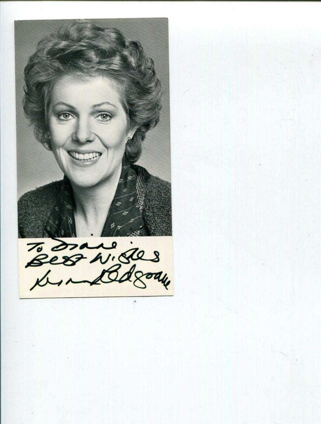 Lynn Redgrave Autographed Photograph - Shine Kinsey Peter Pan Rare