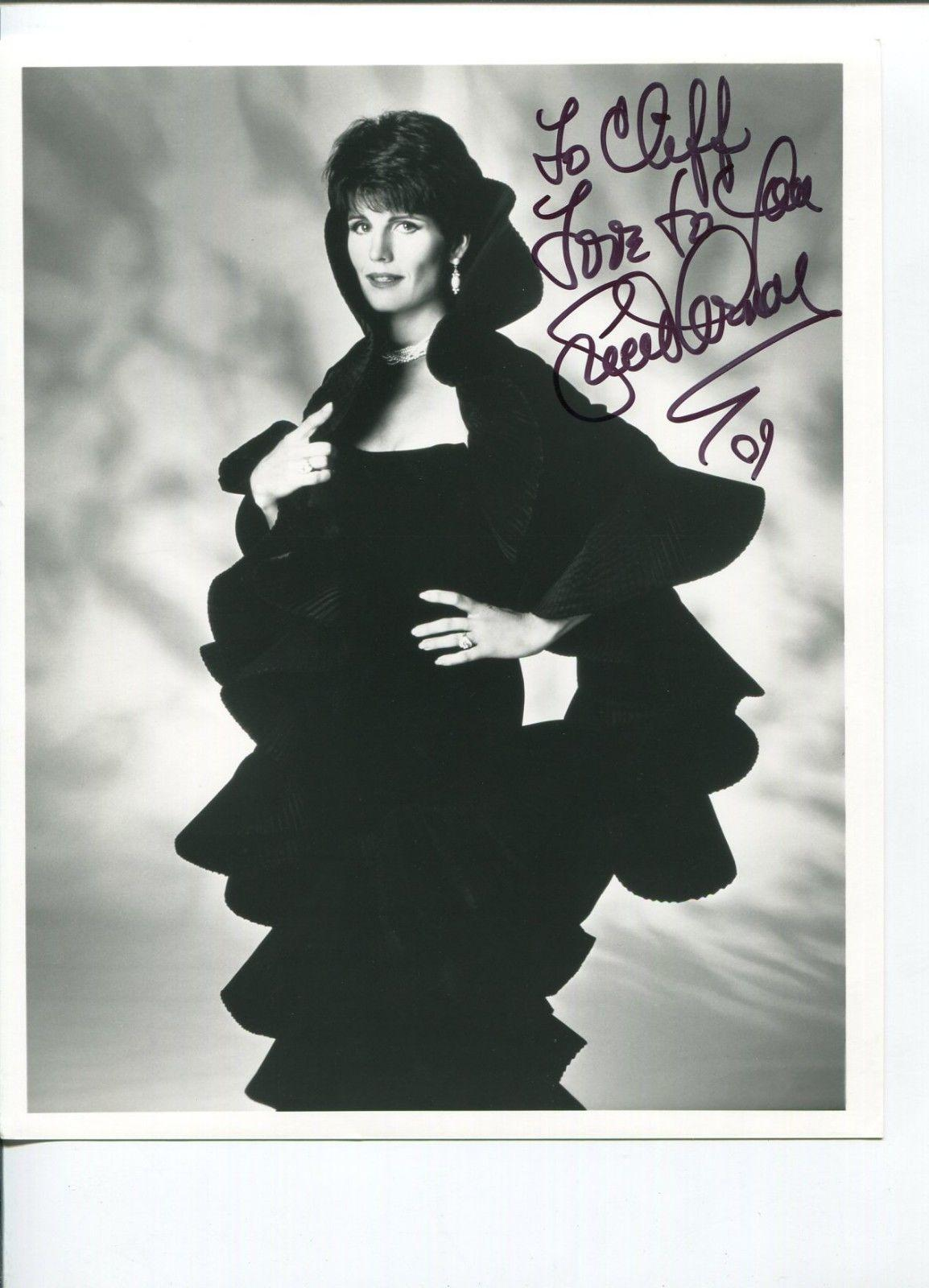 Lucie Arnaz Here's Lucy Jazz Singer Signed Autograph Photo