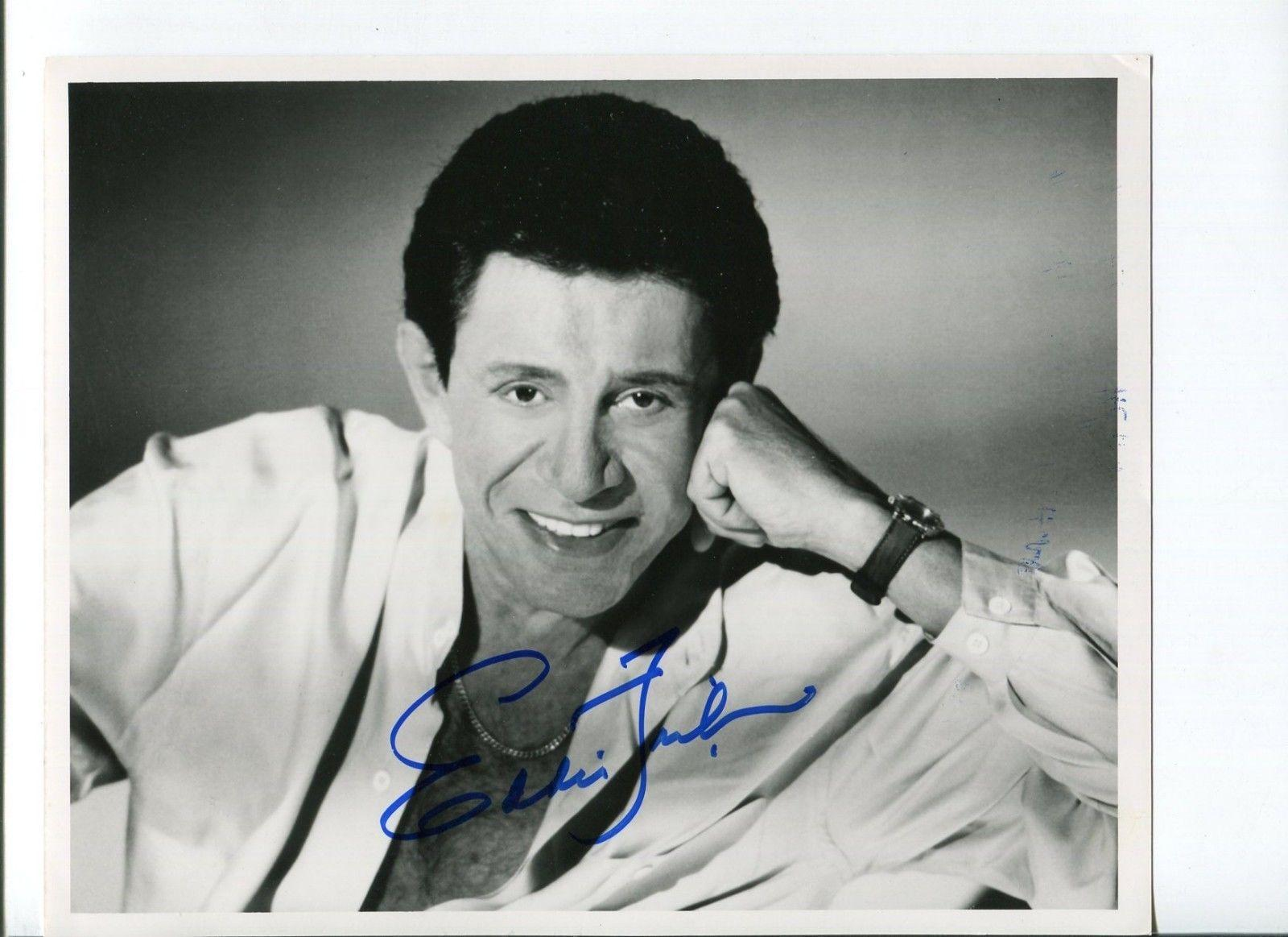 Signed Eddie Fisher Photograph - Famous Singer Actor