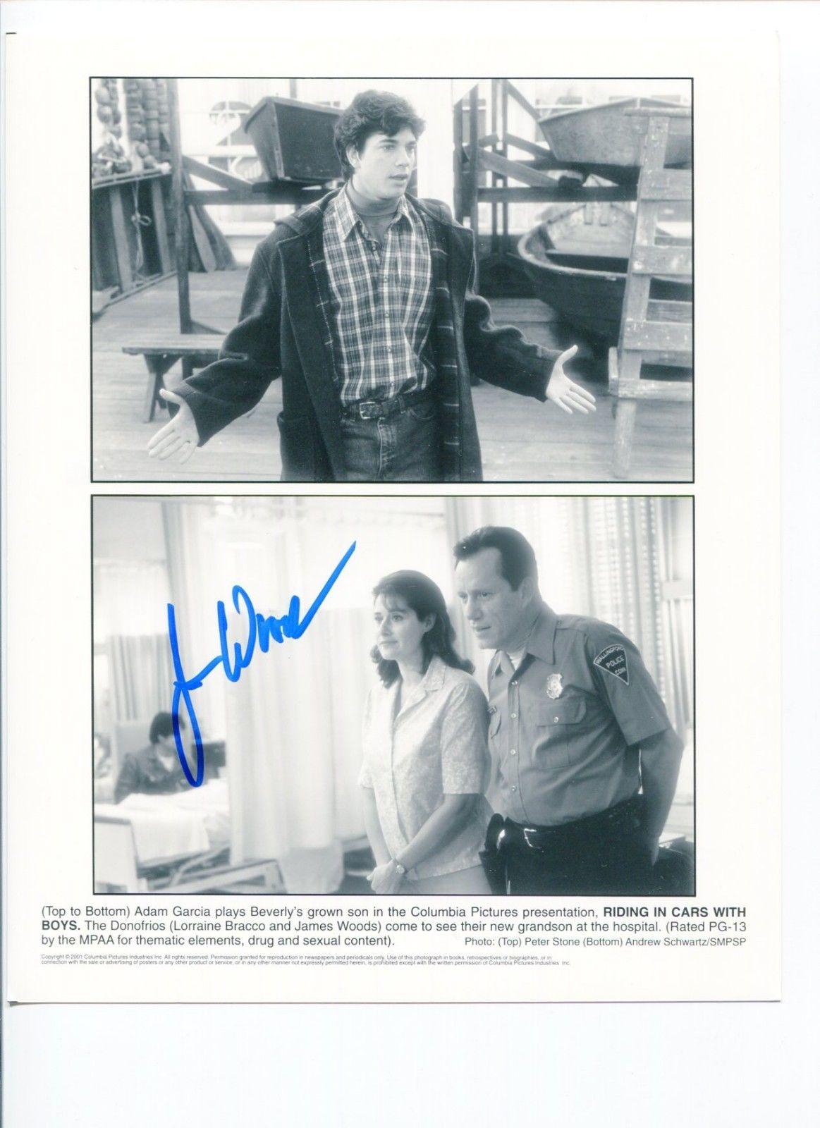James Woods Oscar Nominee Riding In Car With Boys Signed Autograph Photo