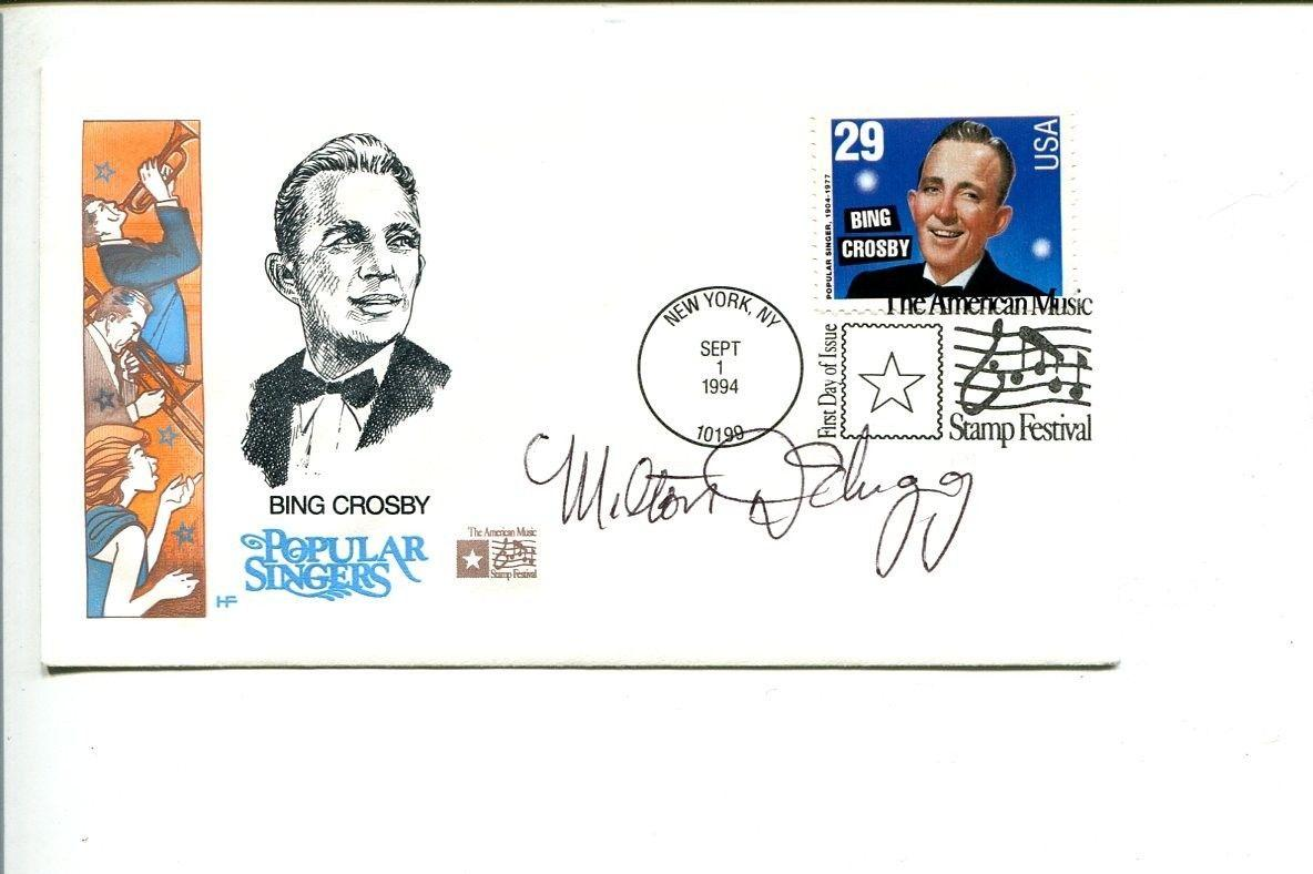 Milton DeLugg Jazz Big Band Composer Signed Autograph FDC