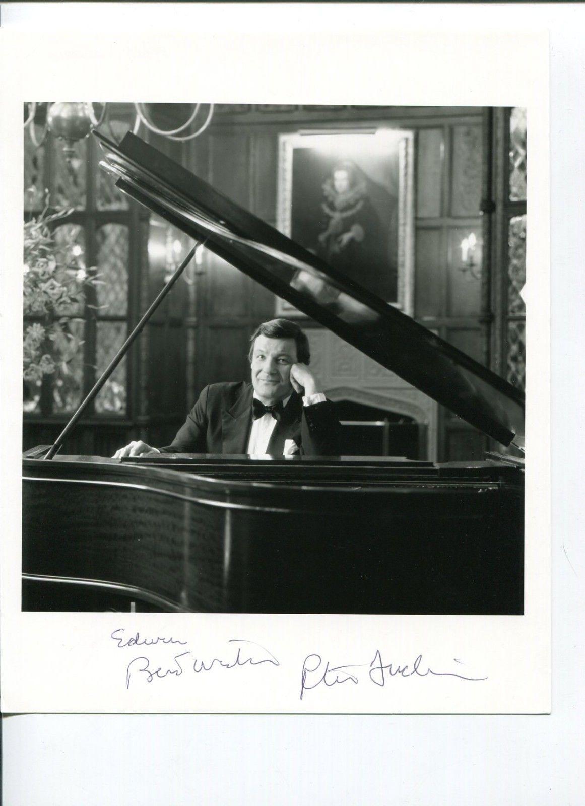Peter Duchin Jazz Big Band Signed Autograph Photo