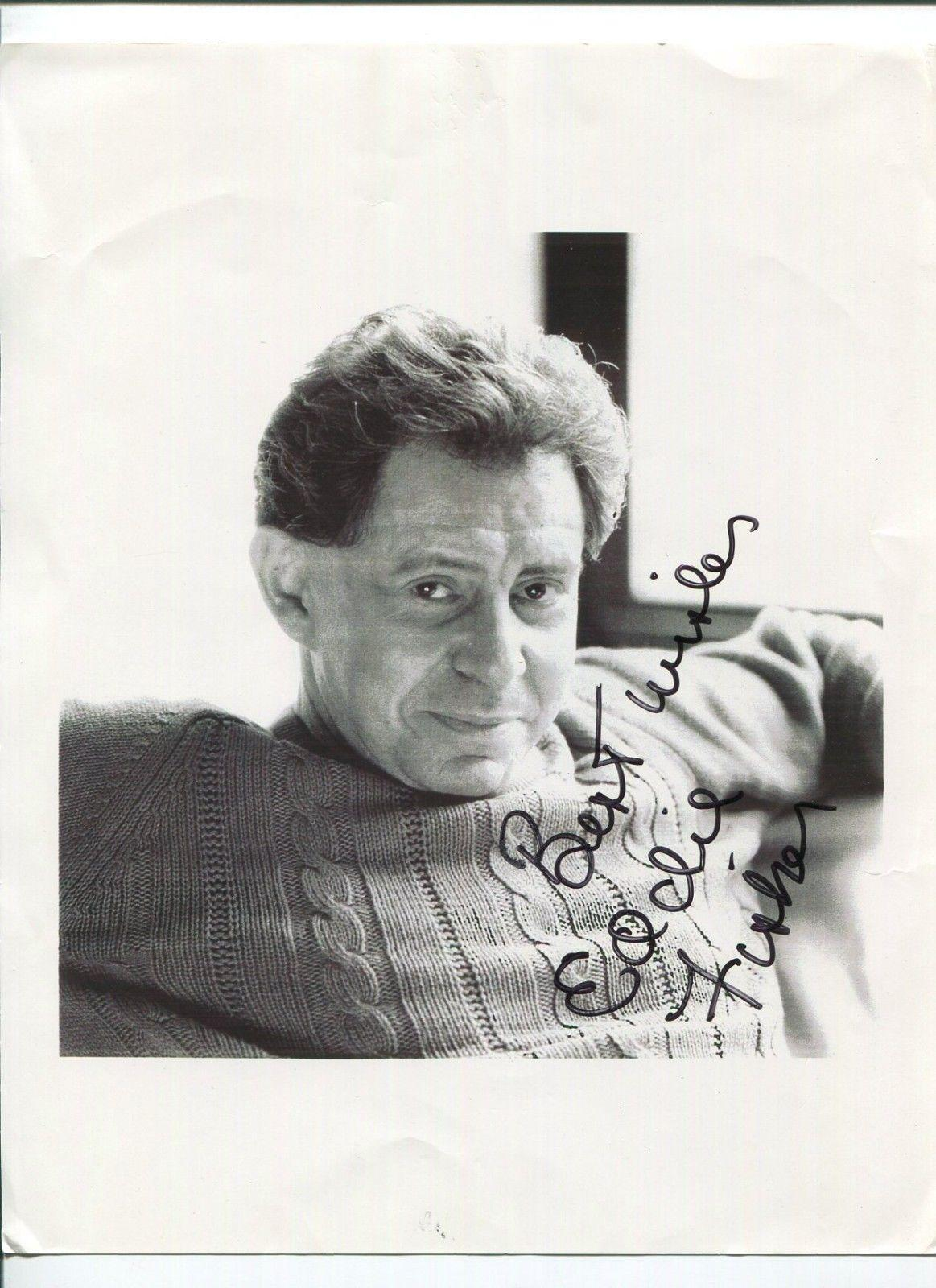 Autographed Eddie Fisher Photograph - Famous Singer Actor