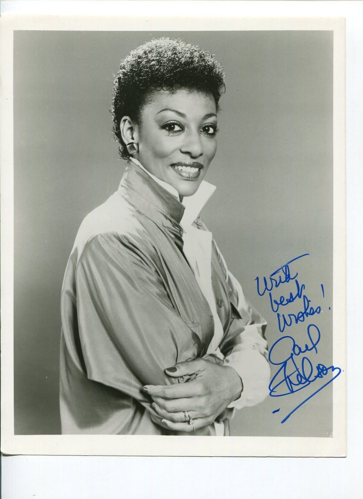 Gail Nelson The Tap Dance Kid Broadway Show Press Signed Autograph Photo