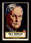 #112 John D. Rockefeller SP - 1952 Topps Look n See Non-Sports Cards (Star) Graded EX+