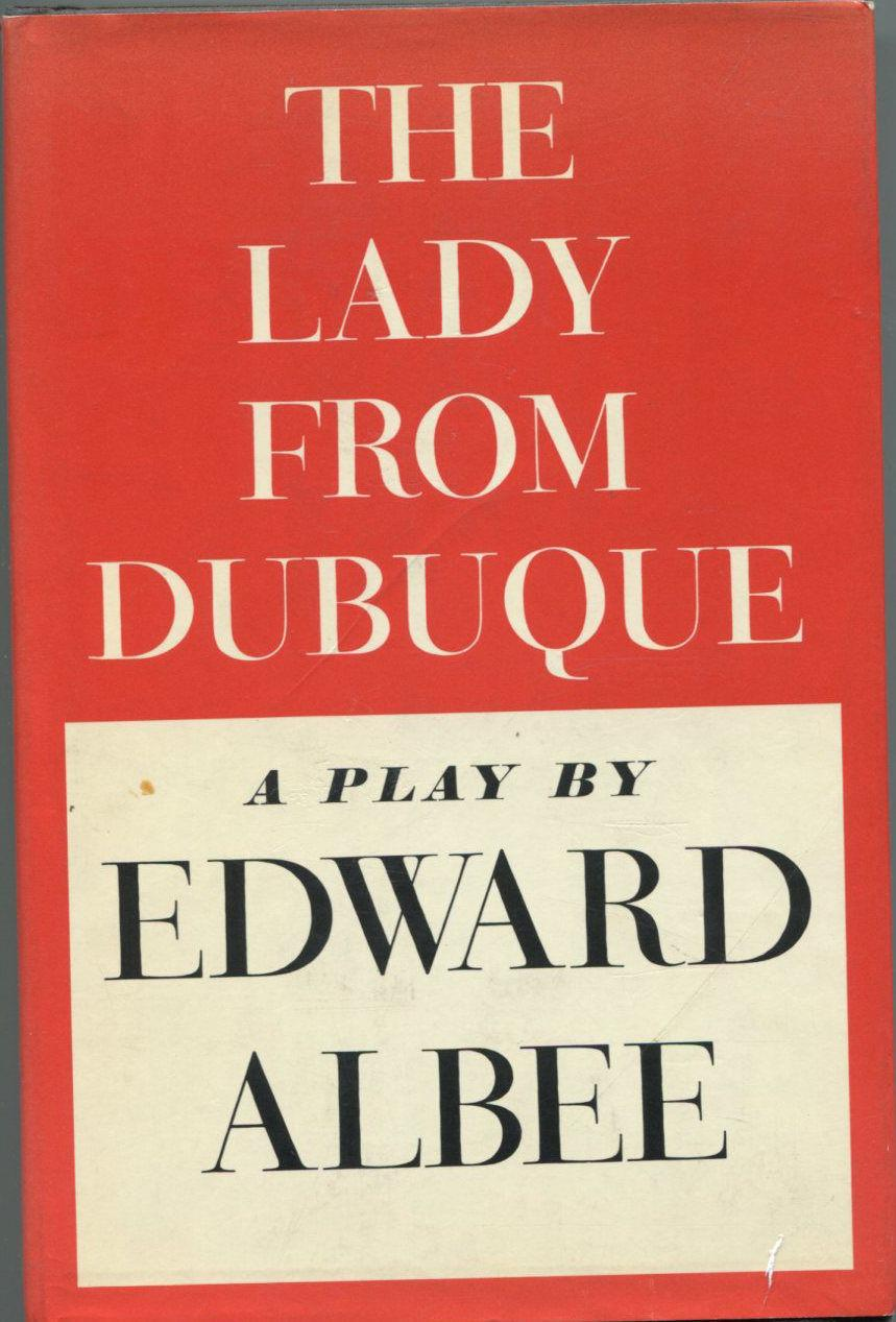 Edward Albee The Lady from Dubuque Signed Autograph 1st Edition Hardback Book