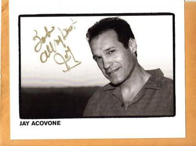 Jay Acovone-signed photo
