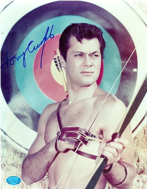 Tony Curtis Signed Photo - 8x10 Actor Image 3