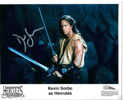 Kevin Sorbo - Hercules- Signed 8x10 Photo - JSA CERT